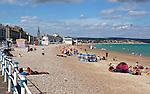 Great Britain, England, Dorset, Weymouth: The beach and Esplanade | Grossbritannien, England, Dorset, Weymouth: Strand und Promenade