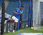 04.10.2020 Rangers v Ross County: Alfredo Morelos dejected after missing an attempt on goal