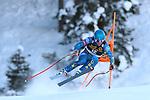 FIS Alpine Ski World Cup - Covid-19 Outbreak -  2nd Men's Downhill Ski event on 19/12/2020 in Val Gardena, Gröden, Italy. In action Ryan Cochran-Siegle (USA)