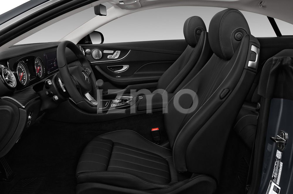 Front seat view of a 2018 Mercedes Benz E-Class E400 2 Door Coupe front seat car photos