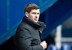Rangers v St Johnstone…16.02.19…   Ibrox    SPFL<br />Rangers manager Steven Gerrard<br />Picture by Graeme Hart. <br />Copyright Perthshire Picture Agency<br />Tel: 01738 623350  Mobile: 07990 594431