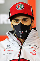 8th October 2020, Nuerburgring, Nuerburg, Germany; FIA Formula 1 Eifel Grand Prix;  99 Antonio Giovinazzi ITA, Alfa Romeo Racing ORLEN