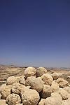Judean desert, Ballista balls in Herodion