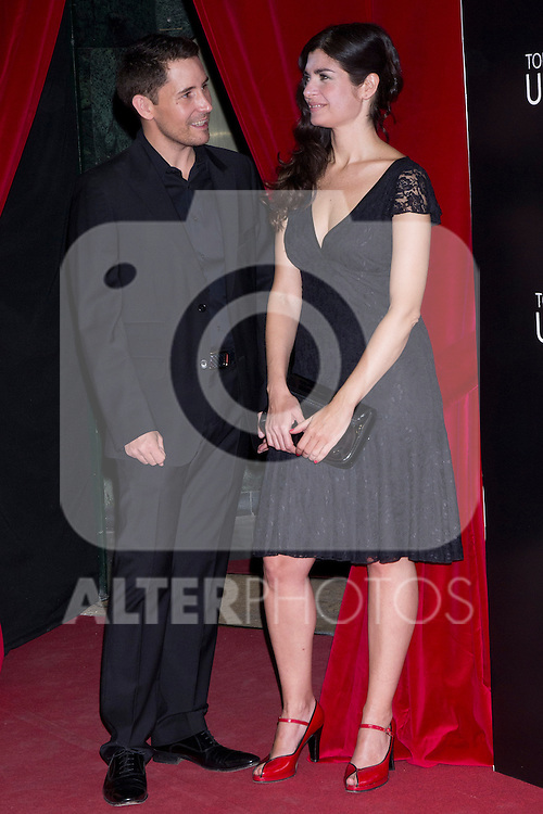 05.09.2012. Premier at the Capitol Cinema in Madrid of the movie ´Todos tenemos un Plan´.. Directed by Ana Piterbag and starring by Viggo Mortensen, Soledad Villamil and Javier Godino. In the image  Javier Godino and Soledad Villamil (Alterphotos/Marta Gonzalez)