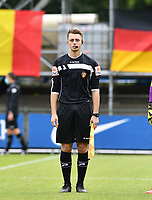 assistant referee Michele Seeldraeyers pictured during a friendly soccer game between the national teams Under19 Youth teams of Belgium and Germany on tuesday 8 th of September 2020  in Genk , Belgium . PHOTO SPORTPIX.BE | SPP | DAVID CATRY