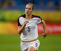 Lindsay Tarpley. The USWNT defeated New Zealand, 4-0, during the 2008 Beijing Olympics in Shenyang, China.  With the win, the USWNT won group G and advanced to the semifinals.