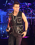 Joey McIntyre of the New Kids on the Block performs at the 1st Mariner Arena in Baltimore, Maryland May 29, 2011. .Copyright EML/Rockinexposures.com.