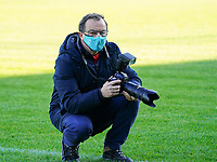 Sporpix.be's photographer Dirk Vuylsteke picture before a female soccer game between Eendracht Aalst and Racing Genk on the fifth matchday of the 2020 - 2021 season of Belgian Scooore Womens Super League , Saturday 28 th of November 2020  in Aalst , Belgium . PHOTO SPORTPIX.BE | SPP | SEVIL OKTEM