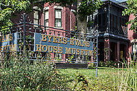 The Byers-Evans House Museum, denver, Colorado, USA.