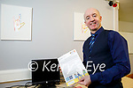 Willie White at the Kerry Deaf Resource Centre preparing a Guideline Template following recognition of Irish Sign Language as an official language.