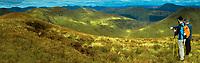 Doune Hill and Ben Lomond from Beinn Eich, the Luss Hills, Loch Lomond and the Trossachs National Park