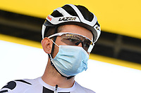 5th September 2020, Grand Colombier, France;  BENOOT Tiesj (BEL) of TEAM SUNWEB during stage 8 of the 107th edition of the 2020 Tour de France cycling race, a stage of 140 kms with start in Cazeres-sur-Garonne and finish in Loudenvielle