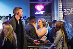 """© Joel Goodman - 07973 332324 . 17/12/2016 . Manchester , UK . A couple kiss outside The Birdcage on Withy Grove . Revellers out in Manchester City Centre overnight during """" Mad Friday """" , named for being one of the busiest nights of the year for the emergency services in the UK . Photo credit : Joel Goodman"""