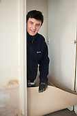 Mario Kulikowski, flooring installer, Camden Council.