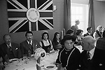 The lunch in the Green Man & Black's Head Royal Hotel also known as the Green Man before the football game starts. Royal Shrovetide Football. Ashbourne Derbyshire, England 1974. Annually Shrove Tuesday and Ash Wednesday.