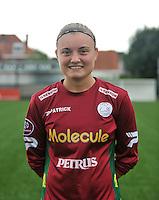 20130824 - Zulte , Belgium :  Annelies Van Elslander , Saturday 24 August 2013. Teampictures <br /> PHOTO DAVID CATRY / Nikonpro.be