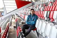 Tuesday 18th February 2020 | Ulster Rugby Media<br /> <br /> Louis Ludik during the Ulster Rugby Match Briefing at Kingspan Stadium, Ravenhill Park, Belfast, Northern Ireland. Photo by John Dickson/DICKSONDIGITAL