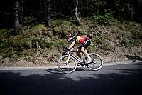 Belgian National Champion Wout van Aert (BEL/Jumbo-Visma) in the descent of the Col de Beixalis<br /> <br /> Stage 15 from Céret to Andorra la Vella (191km)<br /> 108th Tour de France 2021 (2.UWT)<br /> <br /> ©kramon