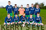 Listowel Celtic  who lined out against Tralee Dynamos in the Denny League on Sunday. Kneeling l to r:  Darren Loughnane,  Paul O'Connor,  Tommy Keane,  Ashley Kelliher and  Brendan Angland.<br /> Standing l to r:  Joe Joe Grimes,  Jack Sheehan,  Shane O'Sullivan,  Ben Tobin,  Thomas Doherty and  Neilus Mackessy.