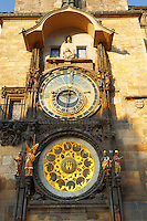 Prague Old Town Square Hall clock