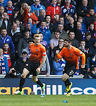 Stuart Armstrong celebrates after scoring the opening goal with team mate Nadir Cifcti