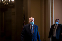 United States Senator Patrick Leahy (Democrat of Vermont) makes his way to the Senate chamber at the U.S. Capitol as the Senate convenes for the day in Washington, DC., Monday, December 7, 2020. Credit: Rod Lamkey / CNP/AdMedia