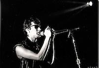 FILE PHOTO : Alain Bashung in 1987