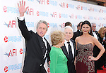 Anne Buydens,Kirk Douglas,Catherine Zeta-Jones & Michael Douglas at The 37th AFI Life Achievement Award held at Sony Picture Studios  in Culver City, California on June 11,2009 and will air on TV Land July 19th,2009 at 9:00 PM ET/PT                                                                    Copyright 2009 DVS / RockinExposures