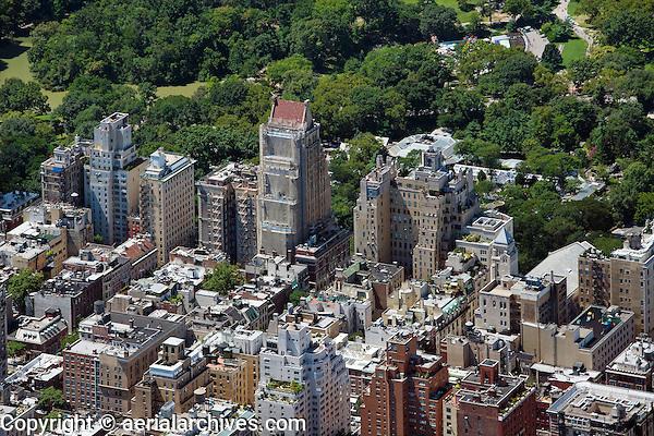 aerial photograph Central Park, upper east side, Manhattan, New York City
