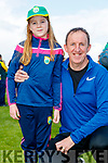Ella and Sean O'Sullivan, Tralee, enjoying the Kerry Team Open Day Meet and Greet, at Fitzgerald Stadium, Killarney on Saturday last.