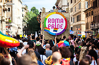 """09.06.2018 - Roma Pride 2018 - """"La Brigata Arcobaleno"""""""