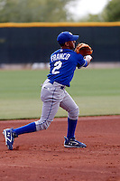 Angel Franco - Kansas City Royals - 2009 spring training.Photo by:  Bill Mitchell/Four Seam Images
