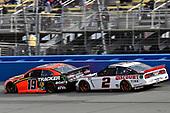 #19: Martin Truex Jr., Joe Gibbs Racing, Toyota Camry Bass Pro Shops and #2: Brad Keselowski, Team Penske, Ford Mustang Discount Tire/Americas Tire