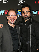 WEST HOLLYWOOD, CA - SEPTEMBER 13: Danny A. Abeckaser, Lionel Cohen, at the LA Premiere Screening Of I Love Us at Harmony Gold in West Hollywood, California on September 13, 2021. Credit: Faye Sadou/MediaPunch