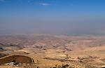 Jordan, the view West of Mount Nebo towards the Jordan Valley&#xA;<br />