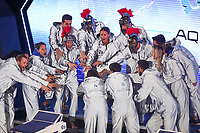 Federica Pellegrini and AQUA CENTURIONS team <br /> Napoli 12-10-2019 Piscina Felice Scandone <br /> ISL International Swimming League <br /> Photo Cesare Purini/Deepbluemedia/Insidefoto