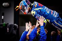 ALEX RINS - SPANISH - TEAM SUZUKI ECSTAR - SUZUKI <br /> Valencia 18-11-2018 <br /> Moto Gp Spagna<br /> Foto Vincent Guignet / Panoramic / Insidefoto