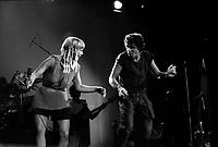 Julien Clerc en spectacle au Quebec vers 1980<br /> <br /> PHOTO :  Agence Quebec Presse