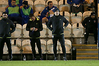 Colchester United manager Steve Ball during Colchester United vs Crawley Town, Sky Bet EFL League 2 Football at the JobServe Community Stadium on 1st December 2020