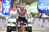 20th April 2021; Cycling Tour of the Alps Stage 2, Innsbruck, Feichten Im Kaunertal Austria;  Mattias Skjelmose Jensen Trek-Segafredo
