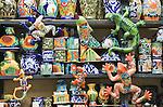 Mexico, Guanajuato, San Miguel de Allende, Souvenir Pottery