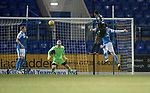 St Johnstone v Hibs…16.03.18…  McDiarmid Park    SPFL<br />Efe Ambrose scores for Hibs<br />Picture by Graeme Hart. <br />Copyright Perthshire Picture Agency<br />Tel: 01738 623350  Mobile: 07990 594431