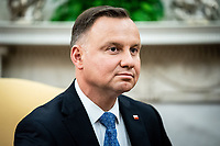 Polish President†Andrzej Duda during a bilateral meeting with United States President Donald J. Trump in the Oval Office of the White House in Washington, DC on June 24, 2020. <br /> Credit: Erin Schaff / Pool via CNP/AdMedia
