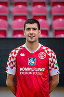 16th August 2020, Rheinland-Pfalz - Mainz, Germany: Official media day for FSC Mainz players and staff; Aaron Martin Caricol FSV Mainz 05