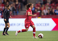 Vancouver, Canada - November 9, 2017: The USWNT tied Canada 1-1 during an international friendly at BC Place.