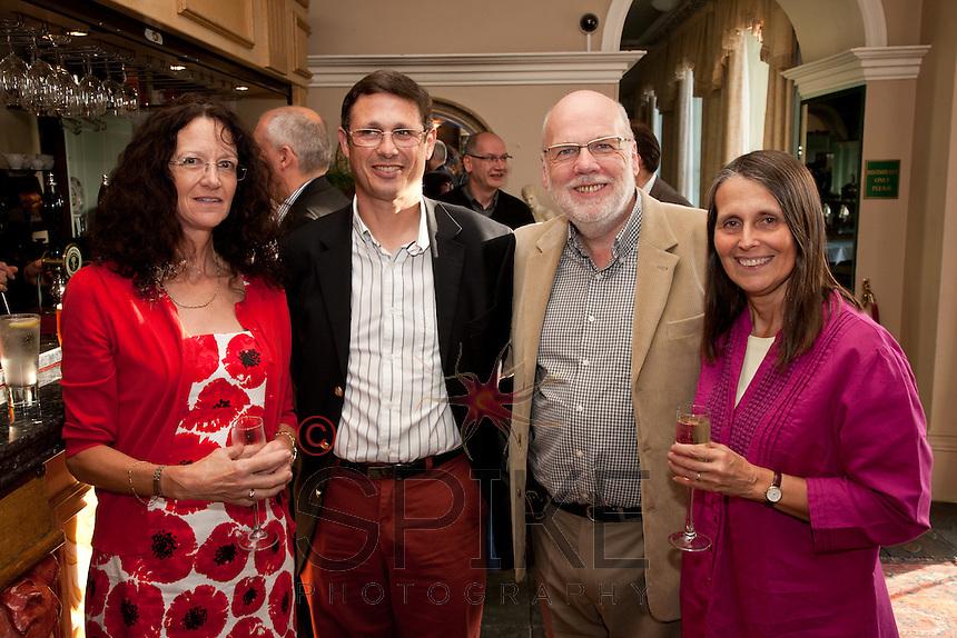 From left: Sonja Potts, Paul Fileman, NCBC President Steve Potts and Jan Fileman, all from Transmentum