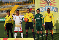 BOGOTA -COLOMBIA, 22-05-2017. Edilson Ariza central referee.Action game between  La Equidad and Rionegro Aguilas during match for the date 19 of the Aguila League I 2017 played at Metroplitano of Techo stadium . Photo:VizzorImage / Felipe Caicedo  / Staff