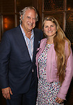Stewart f. Lane and Bonnie Comley attends the Drama League's directing fellows dinner at the Bond 45 on May 16, 2018 in New York City.