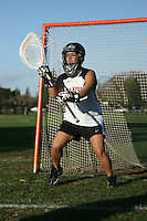 2 December 2005: Photos of the Kate Horowitz at the lacrosse cover shoot at the IM field in Stanford, CA.