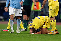 Hellas Verona s Antonin Barak reacts after being injured during the Serie A soccer match between Lazio and Hellas Verona at Rome's Olympic Stadium, December 12, 2020.<br /> UPDATE IMAGES PRESS/Riccardo De Luca